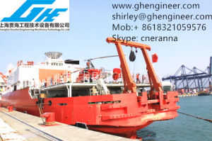25t 30t Hydraulic Science Research Ship a Frame Crane pictures & photos