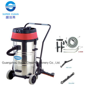 Kimbo 80L Wet and Dry Vacuum Cleaner with Squeegee pictures & photos