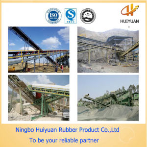 Rubber Conveyor Belt Used in Concrete Mixing Plant pictures & photos