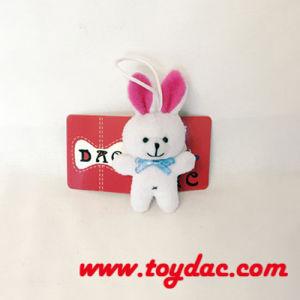 Ultra Stuffed Mini Rabbit Key Ring pictures & photos