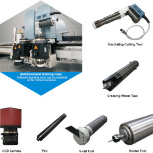 Gasket Cutting Machine with Oscillation Knife pictures & photos