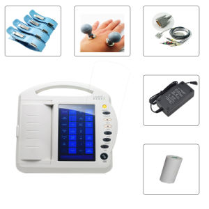 Digital 10-Inch 12-Channel Color Touch-Screen Electrocardiograph ECG (EKG-1212A) -Fanny pictures & photos