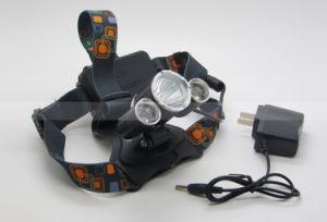 15W USB Charging 1800lm CREE Xml T6 3 LED Headlamp Fishing Flashlight Cap Headlight (1117) pictures & photos