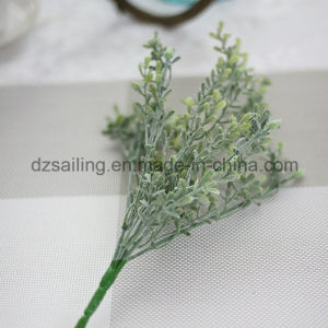 Plastic Leaves Aritificial Flower for Wedding/Home/Garden Decoration (SF16293A) pictures & photos
