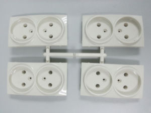 European Style 2 Pin Wall Socket Shell Mold pictures & photos