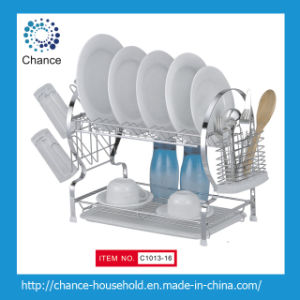 22 Inches Wall-Hung Dish Rack for Kitchenware (C1013-16)