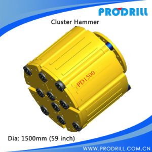 Pd1500 Super Jumbo Cluster Hammer with Best Price pictures & photos
