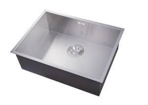 Factory Best Prices Single Customized Handmade 16 G Stainless Steel Sink pictures & photos