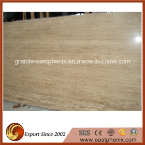 Imported Beige Travertine Marble Slab pictures & photos