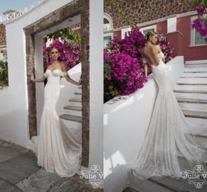 Julie Vino Sweetheart Lace Bridal Gowns off Shoulder Mermaid Wedding Dresses Dz836 pictures & photos