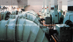 Tubular Hydro (Water) -Turbine-Generator Gd006 Low Head 6~12 Meter Hv /Hydropower / Hydroturbine pictures & photos