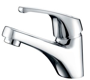 35mm Single Lever Basin Mixer Faucet (F-232) pictures & photos