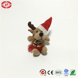 Tiny Cute Moose Soft Plush Xmas Promotional Toy pictures & photos