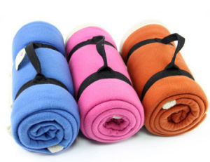 OEM Colorful Design Travel Blankets pictures & photos