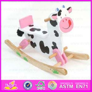 2015 Latest Design Kids Riding Horse Toy, Children Wooden Rocking Horse, Wooden Toy Rocking Horse for Outdoor Playground Wjy-8002 pictures & photos