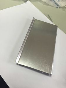 Builiding Material Waterproof 100mm Aluminum Skirting pictures & photos