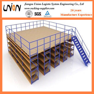 Heavy Load Steel Structure Mezzanine Floor Platform pictures & photos