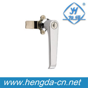 Household Cabinet Door L Shape Handle Lock (YH9693) pictures & photos