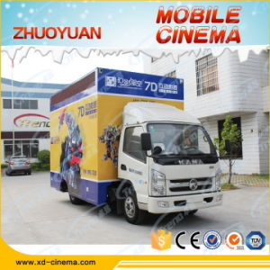 Guangzhou Business Entertaining Mobile Truck Cinema 5D, Truck Mobile 7D Cinema pictures & photos
