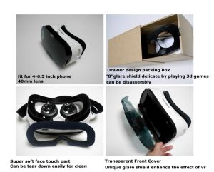 3D Virtual Reality Glasses 3D Eyeglass Headset pictures & photos