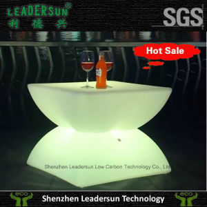 Color Changing Waterproof Plastic Tea Table Ldx-Z25
