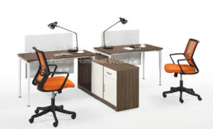Simple Office Desk with Table Top Partition Office Furniture (HF-CB002) pictures & photos