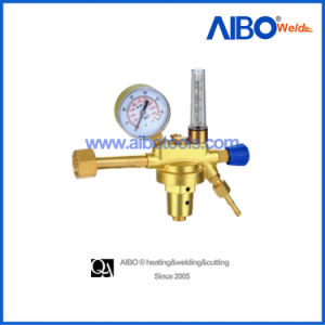 Adjustable Argon Gas Regulator with Flowmeter (2W16-1042) pictures & photos