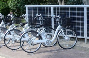 Wind Solar Hybrid System for Electric Bike Pit pictures & photos