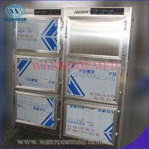 Ga306 Six Bodies Cold Cadaver Cabinet Mortuary Refrigerator pictures & photos