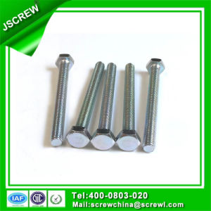 Carbon Steel 10mm Hex Head Bolts with Full Thread pictures & photos