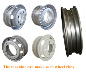 Tubeless Rim Roll Forming Machine Line pictures & photos