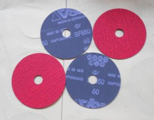 Fiber Disc with Ceramic Material pictures & photos