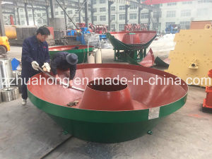 Huahong Gold Ore Wet Pan Mill Grinding Machine Manufacturer pictures & photos
