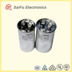 Aluminum MKP Cbb65 35UF 450V Capacitors for Generator pictures & photos