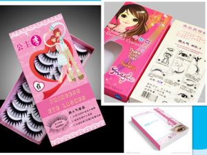 Fashion Custom Eyelash Packaging Box Paper Cosmetic Box pictures & photos