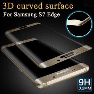 9h 3D Curved Tempered Glass Screen Protector Film for Samsung Galaxy S7 /S7 Edge pictures & photos