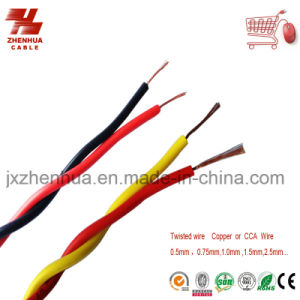 Multi Color Stranded Copper Core Wire and Cable PVC Insulated Soft Wire Rvs Electric Cable pictures & photos