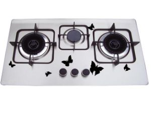 Cast Iron Pan Supporter 3 Gas Burner, Gas Cooker pictures & photos