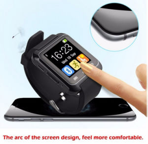 Touch Screen LED Rubber Sport Wirst Silicone Smart Watch pictures & photos