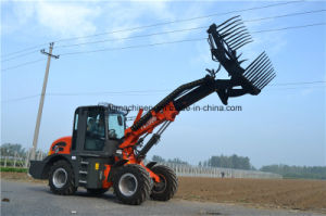 Chinese Handler Telescopic Boom Wheel Loader with Ce pictures & photos