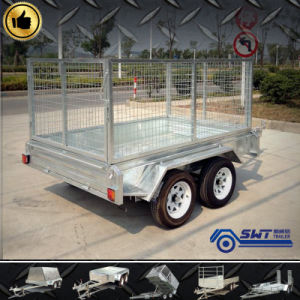 Heavy Duty Fully Welded Tandem Axle Box Truck (SWT-TT85) pictures & photos