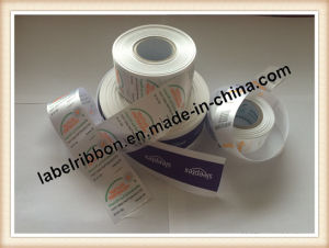 High Quality Matte Polyester Satin Ribbon for Label Printing (PS1217XY) pictures & photos