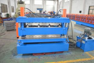 0.3 - 0.8mm Two Free Style Profiles Double Layer Roll Forming Machine pictures & photos