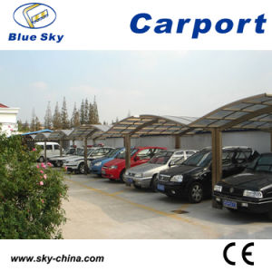 Popular Durable High Quality Polycarbonate Roof and Aluminum Carport pictures & photos