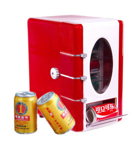 Mini Thermoelectric Beverage Showing Cooler with DC12V, AC Adaptor100-240V pictures & photos