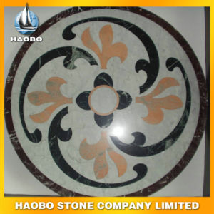 Indoor/Outdoor White Marble Natural Stone Mosaic Floor Tile pictures & photos