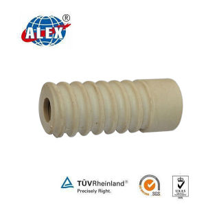 PA66/HDPE Railway Fastening Plastic Dowel Rods pictures & photos