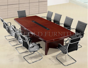 New Design Durable King Size Melamine Office Conference Table (SZ-MT117) pictures & photos