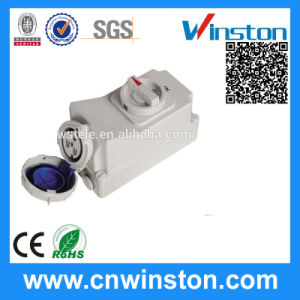Hot Sell Interlock Switch Socket with CE, RoHS Approval pictures & photos