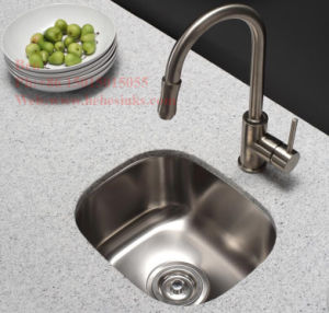 "17""X15"" Stainless Steel Single Bowl Bar Sink with Cupc Certification pictures & photos"